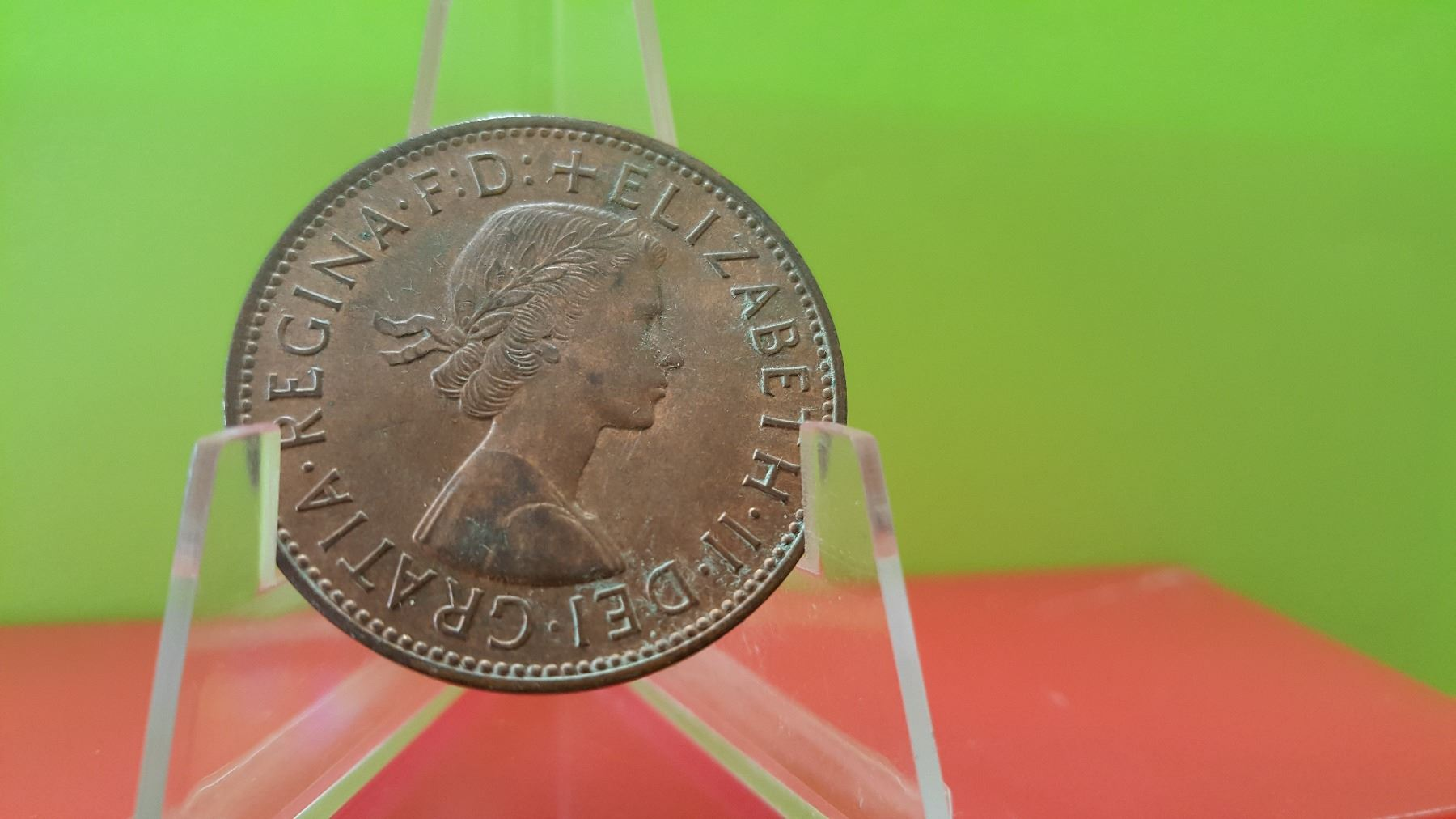 One Penny, 1967, Great Britain