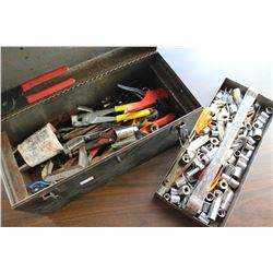 CRAFTSMAN TOOLBOX WITH CONTENTS