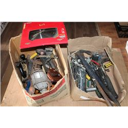 TWO BOXES OF TOOLS