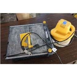 10 INCH ORBITAL POLISHER AND TILE SAW