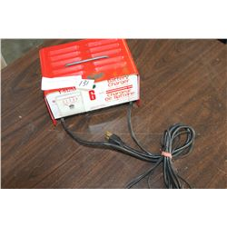 SIX AMP BATTERY CHARGER