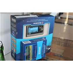NEW OVERSTOCK SIRIUS SATELLITE RADIO SPORTSTER 4 ALL IN ONE RADIO AND VEHICLE KIT AND FM DIRECT ADAP