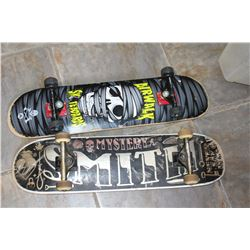 MYSTERY SMITH AND AIRWALK SKATEBOARDS