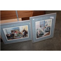 TWO LIMITED EDITION PRINTS TOYBOX AND SECURITY