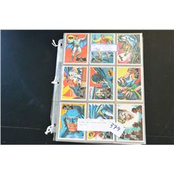 BATMAN AND ROBIN COLLECTOR CARD SET