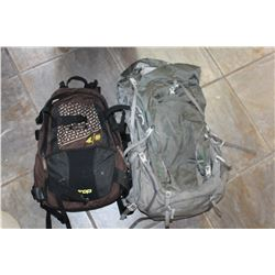 HIKING PACK AND BACKACK