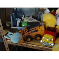 LOT OF DIE CAST AND OTHER TOYS