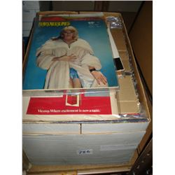 BOX OF VINTAGE ADULT MAGAZINES
