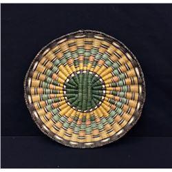 Vintage Hopi Wicker Basket, Third Mesa