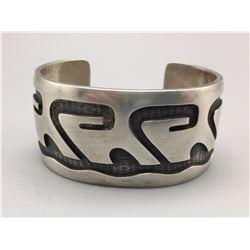 Vintage Hopi Overlay Bracelet