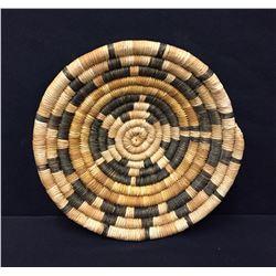 Vintage Hopi Coiled Basket, Second Mesa