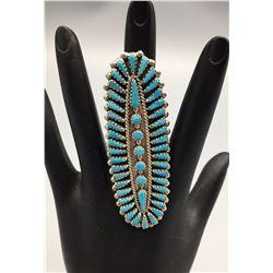 Large Zuni Ring - Nastacio