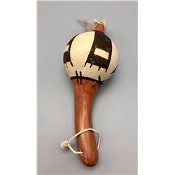 Vintage Hopi Pottery Rattle