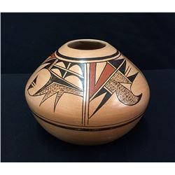 Tewa, Hopi Pottery Jar  - Mahle