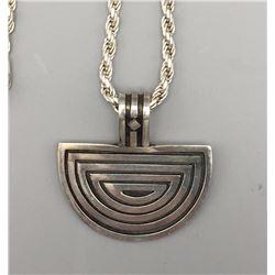 Unique, Taxco Sterling Necklace