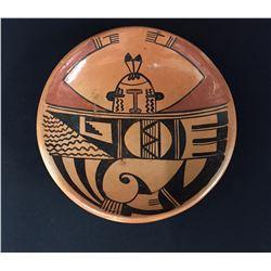 Vintage Hopi Pottery Plate