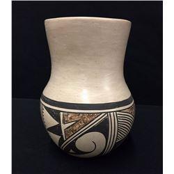 Vintage Hopi Pottery Vase - Signed