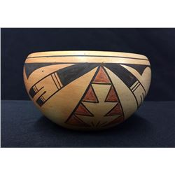 Vintage Handmade Hopi Pottery Bowl - Silas