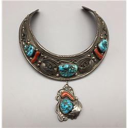Unique Vintage Navajo Necklace