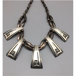 Unique Sterling Silver Necklace