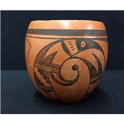 Vintage Handmade Hopi Pottery Jar