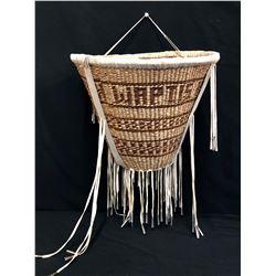 Large Vintage Apache Burden Basket