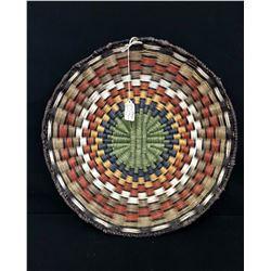 Large Hopi Wicker Basket