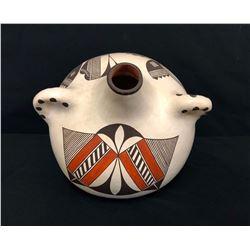Acoma Pottery Canteen - Aaragon