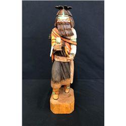 Nice Hopi Long Hair Kachina