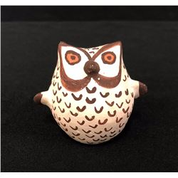 Acoma Owl Pottery Effigy - Leno
