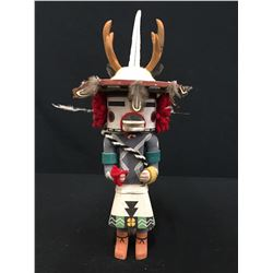 Hopi Deer Kachina -Bryan Nasetoynewa