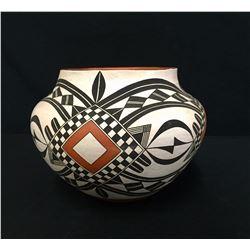 Acoma Pottery Jar - Adrian Vallo
