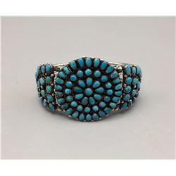Circa 1930s - 40s Cluster Bracelet
