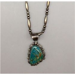 Turquoise Necklace - Spencer