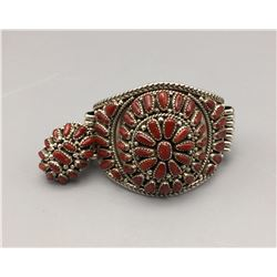 Coral Bracelet and Ring