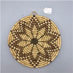Vintage Hopi Plaque - Star/Flower