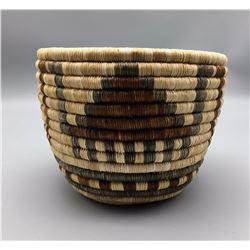 Vintage Hopi Cylinder Basket (Oblong)