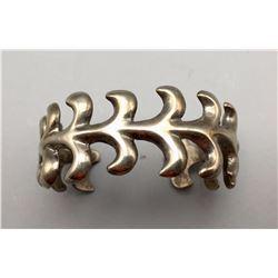 Sterling Sandcast Bracelet