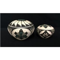 2 Acoma Pots - Torivio