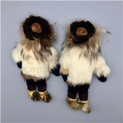 Pair of Inuit Eskimo Dolls
