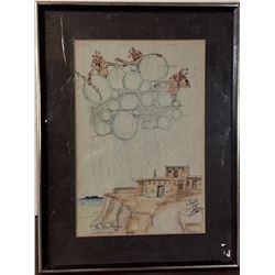 Original Hopi Artwork - D. Namoki