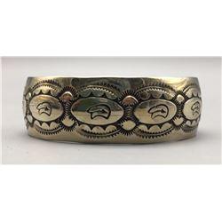 Sterling, Heartline Bear Bracelet