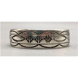 Stamped Sterling Silver Bracelet - Signed