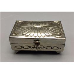 Vintage Sterling Silver Box