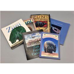 Group of Zuni Fetish Books