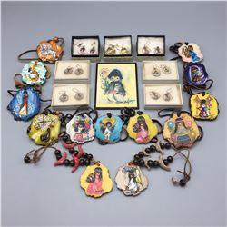 Group of DeGrazia Jewelry etc.