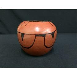 Vintage Tohono O'odham Pottery Bowl