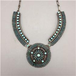 Exquisite Handmade Turquoise Necklace