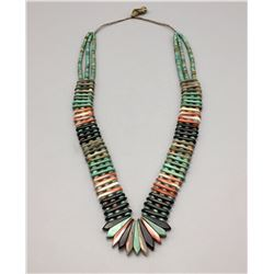 Exquisite Handmade Pueblo Multi-stone Necklace