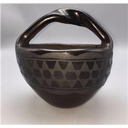 Vintage Santo Domingo Pottery Bowl